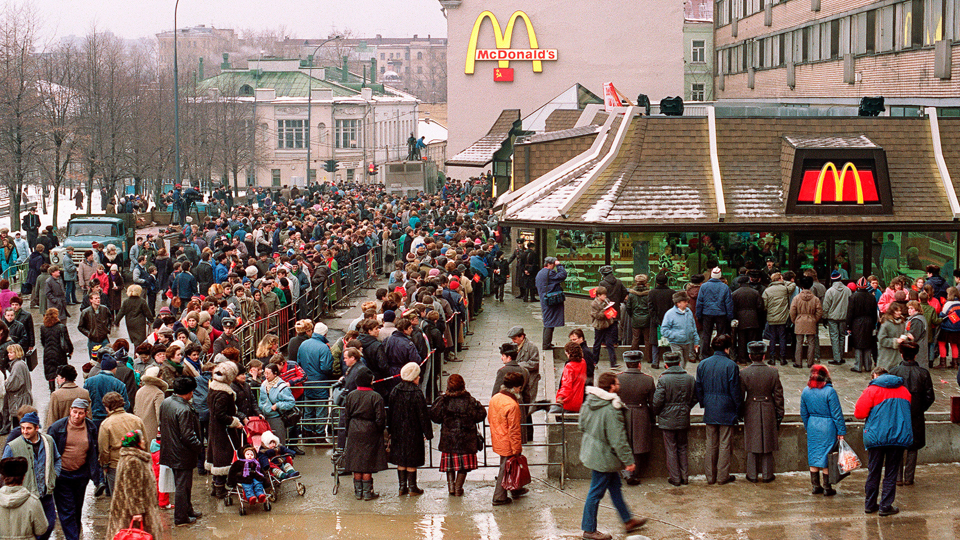 La agonía del hombre moderno: McDonaldization